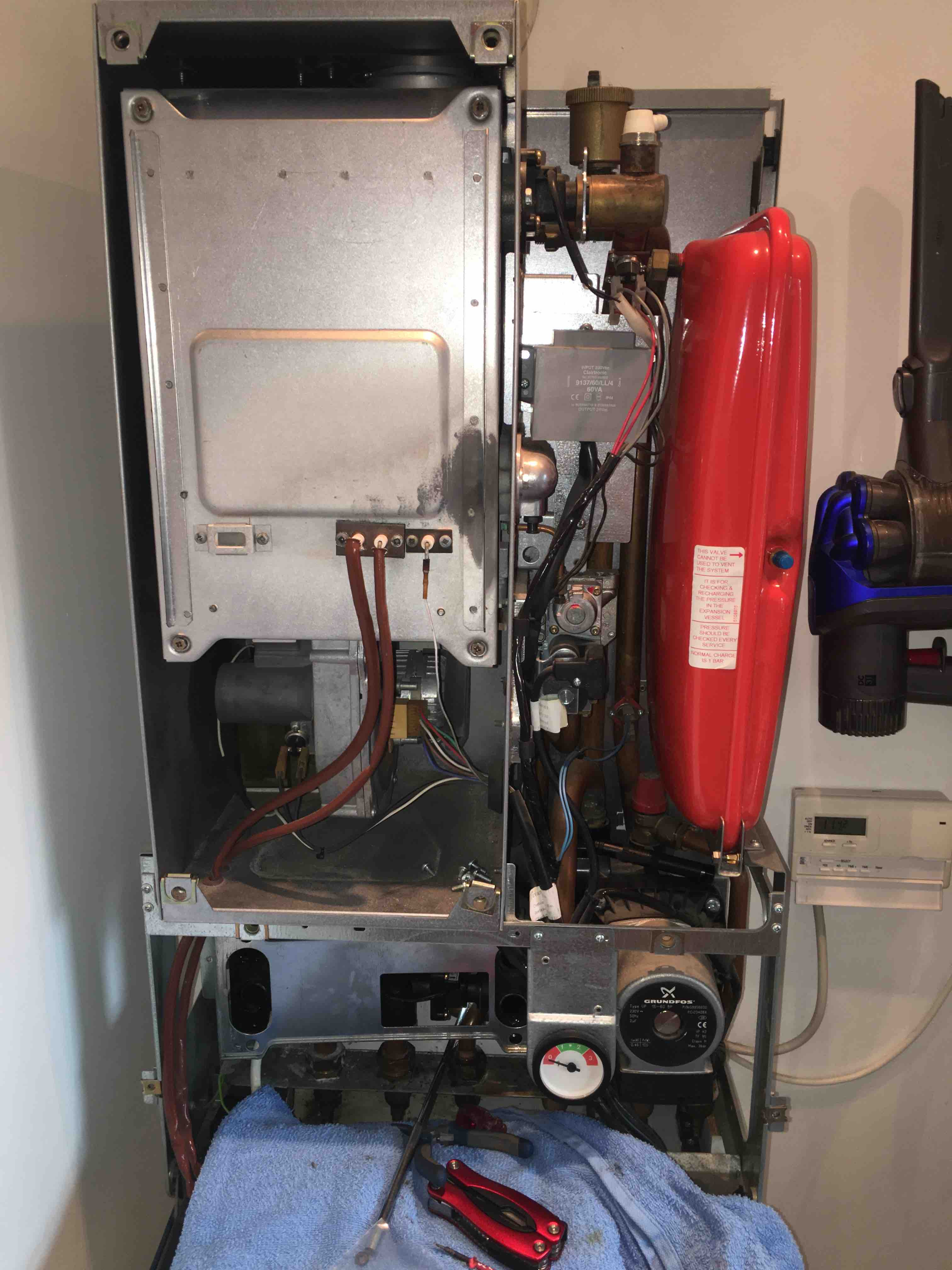 truma combi boiler operating instructions