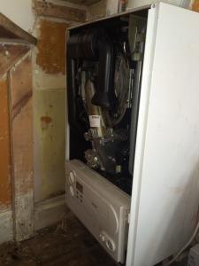 Vaillant Ecotec Plus 624 failed burner door seal